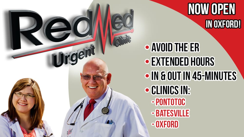Redmed Urgent Clinic Book Online Urgent Care In Pontotoc Ms
