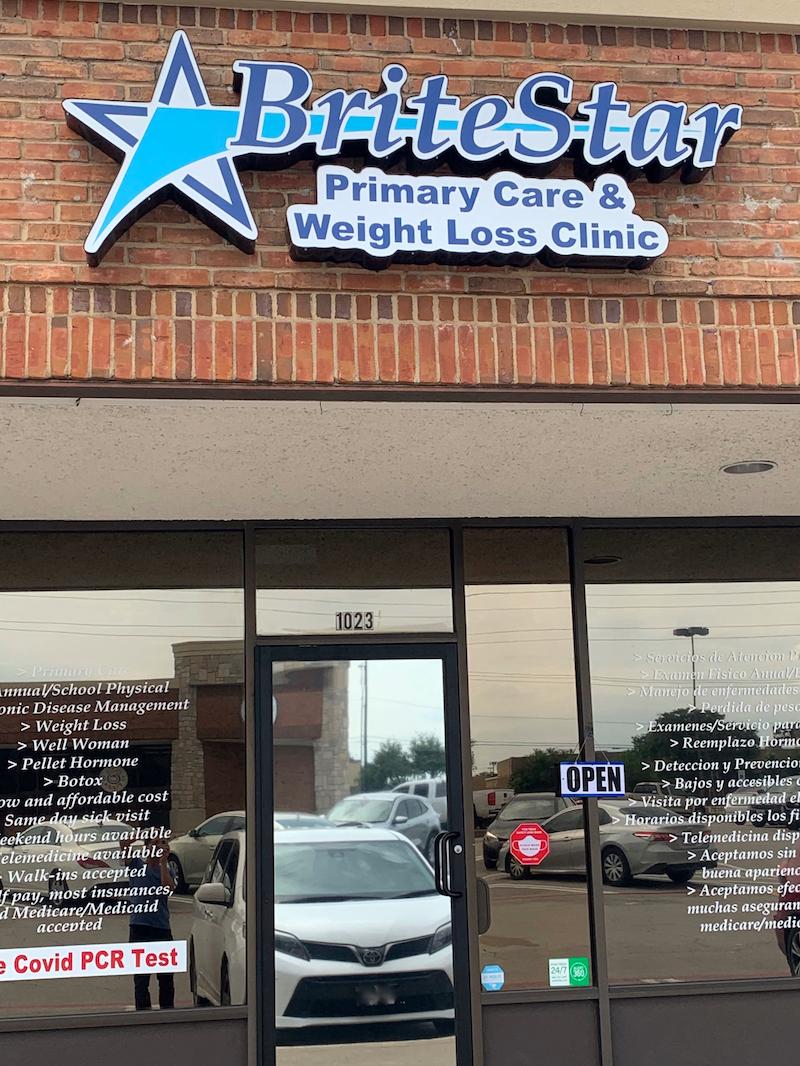 Britestar Primary Care & Weightloss - Urgent Care Solv in Garland, TX