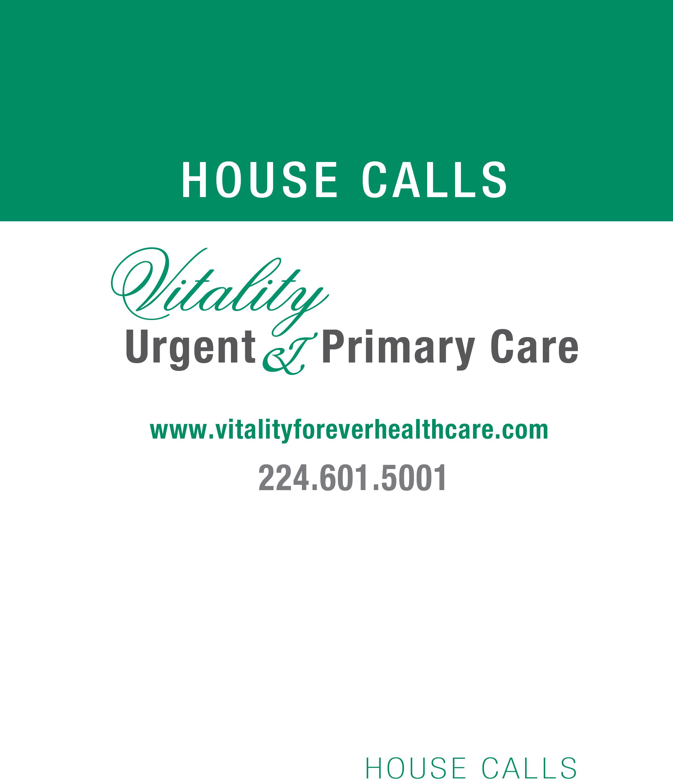 Vitality Urgent & Primary Care House Calls Logo