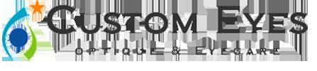 Custom Eyes Optique & Eyecare Logo