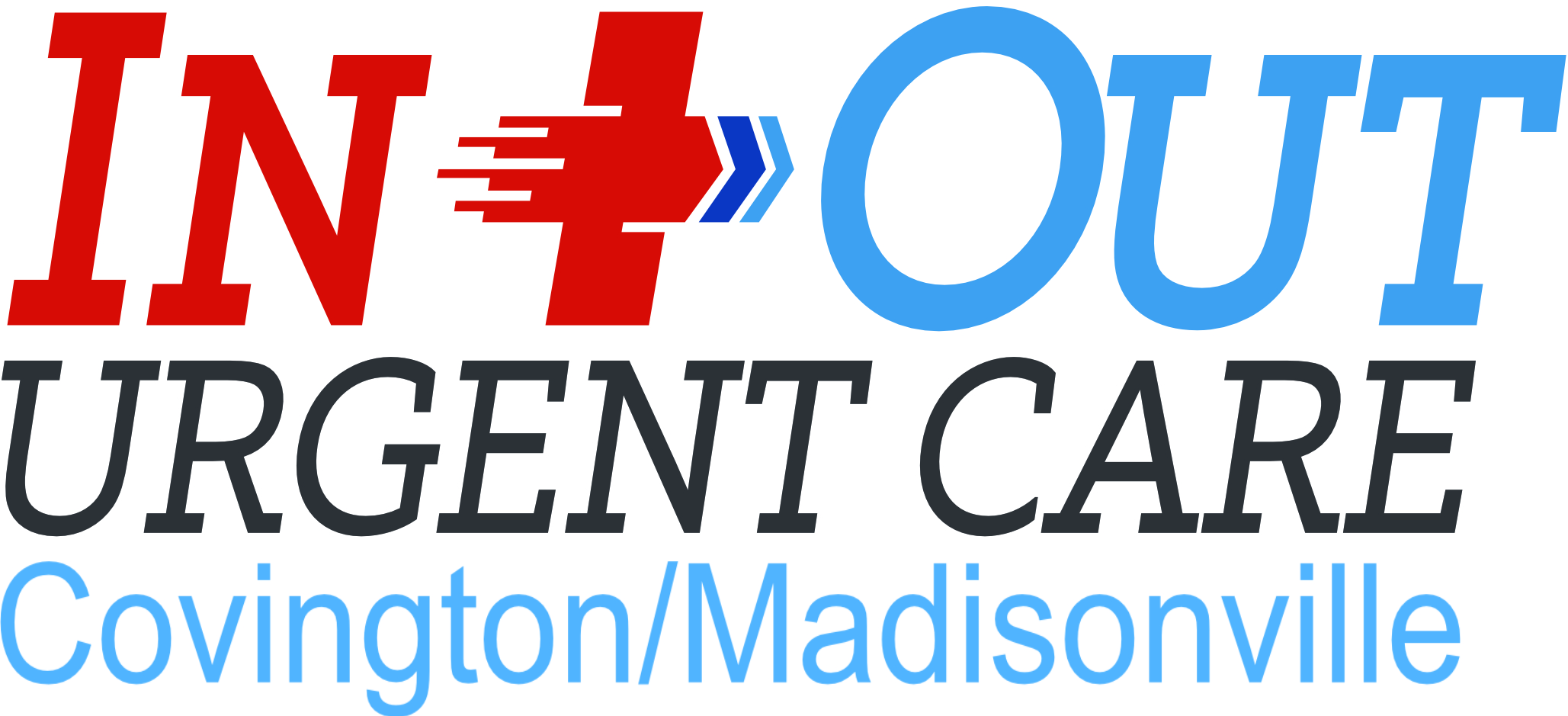 In & Out Urgent Care - Covington Madisonville Logo