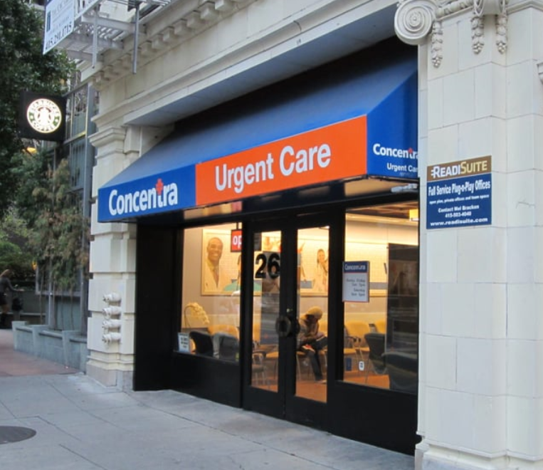Concentra Urgent Care (San Francisco, CA) - #0