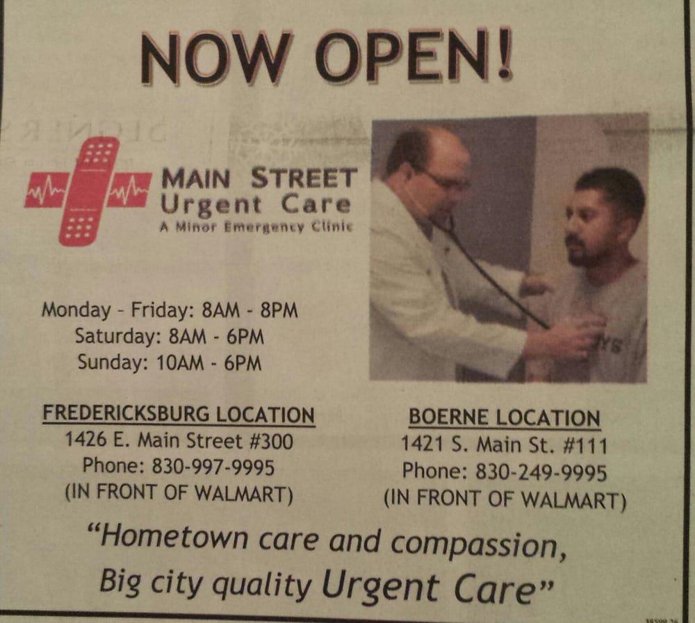 Main Street Urgent Care - Urgent Care Solv in Fredericksburg, TX