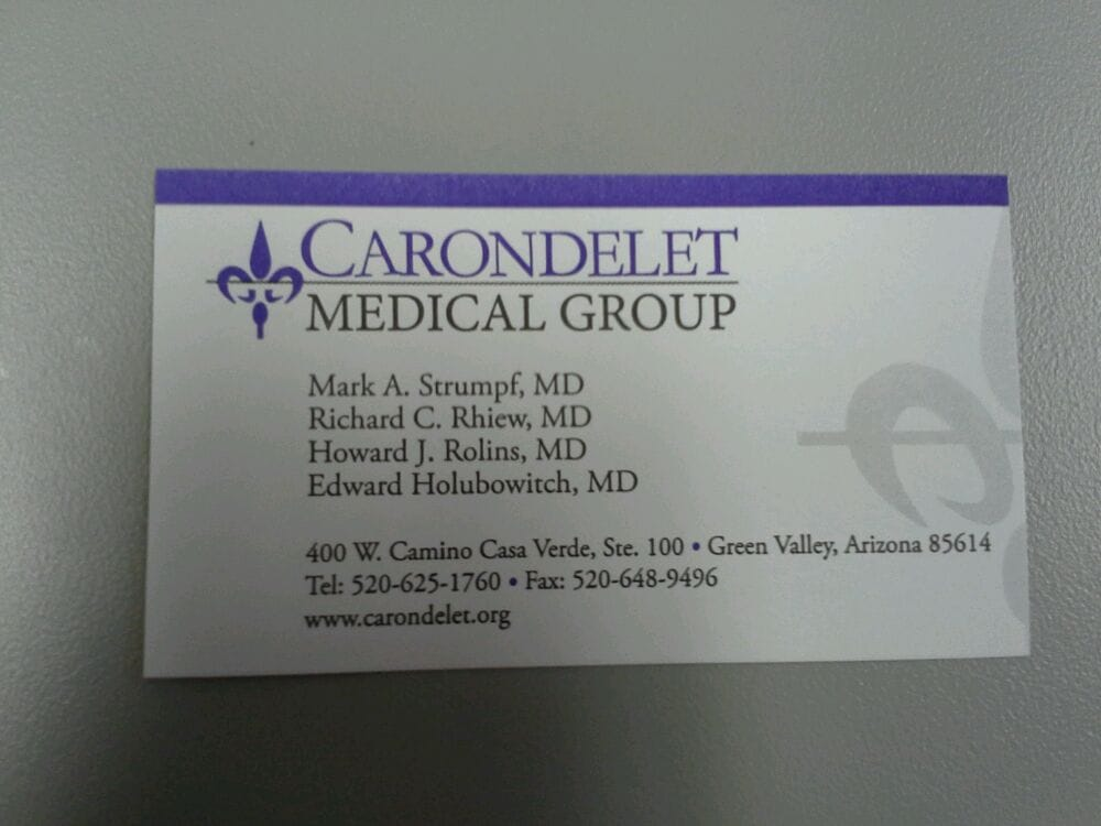 Carondolet Urgent Care (Green Valley, AZ) - #0
