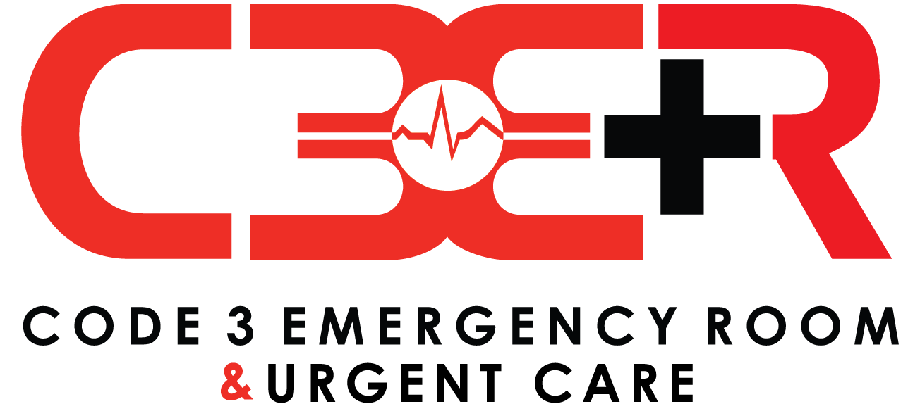 Code 3 Urgent Care - Denton Logo