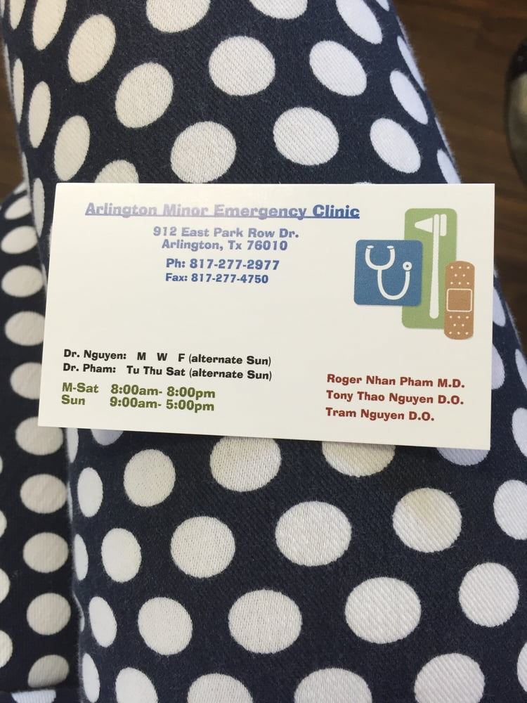 Arlington Minor Emergency Clinic - Urgent Care Solv in Arlington, TX