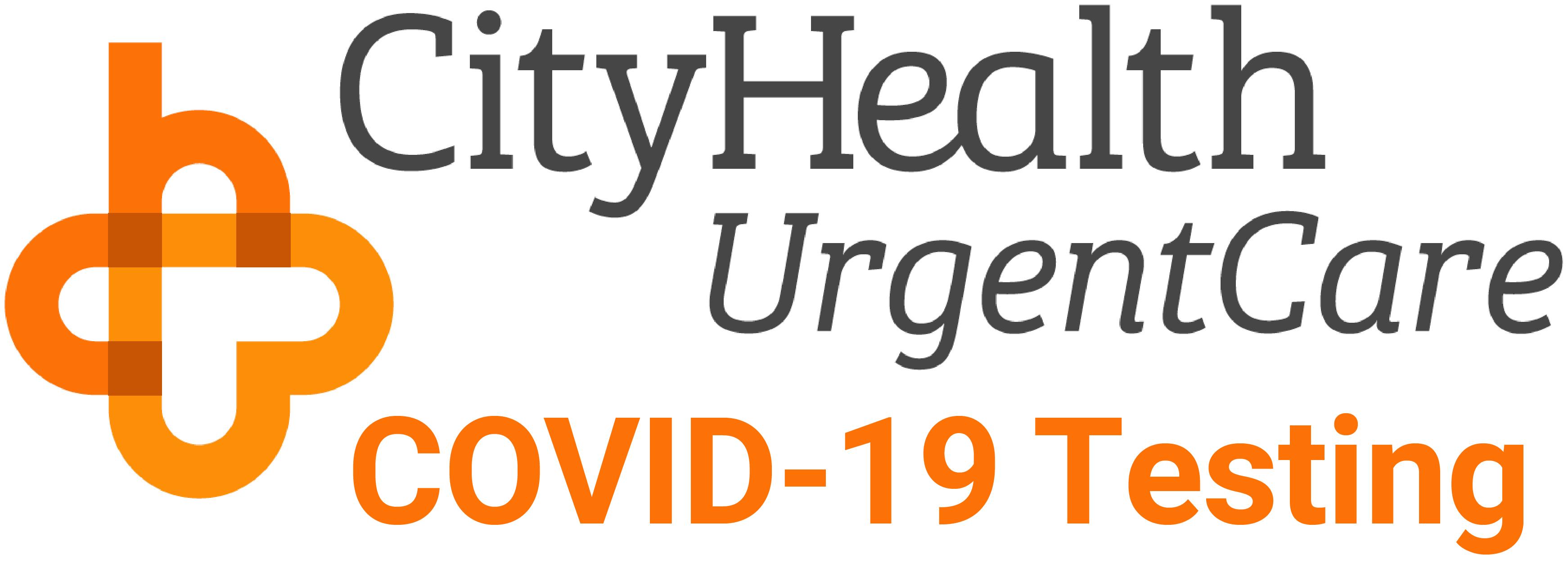 CityHealth Urgent Care - Rapid Testing Site Logo