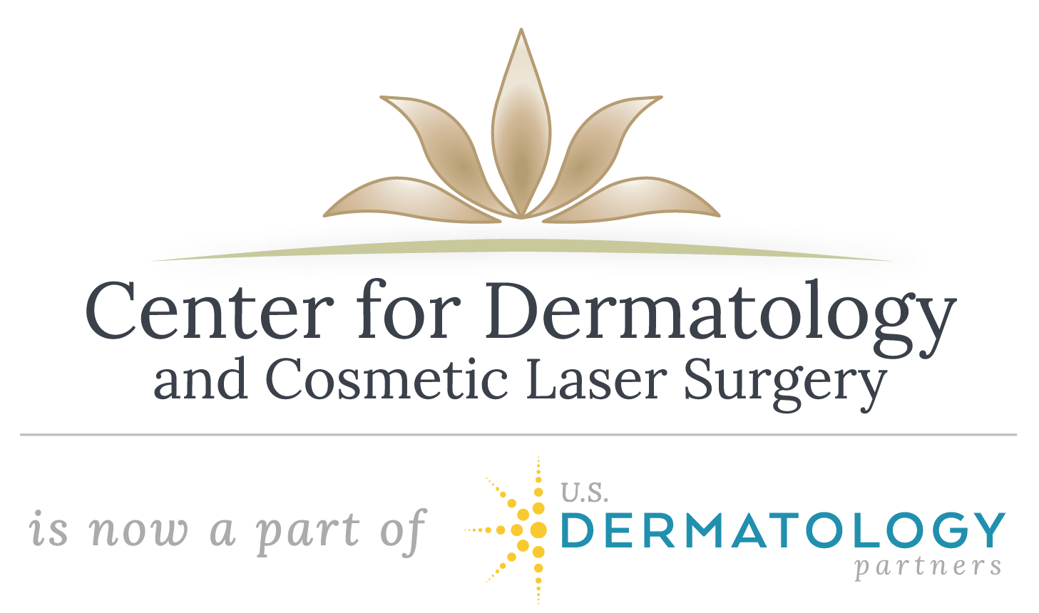 Center For Dermatology - Flower Mound Logo