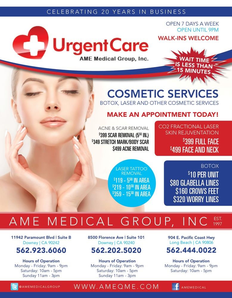 Photo for Urgent Care Center - AME Medical Group , (Whittier, CA)