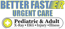 Better FastER Urgent Care Logo