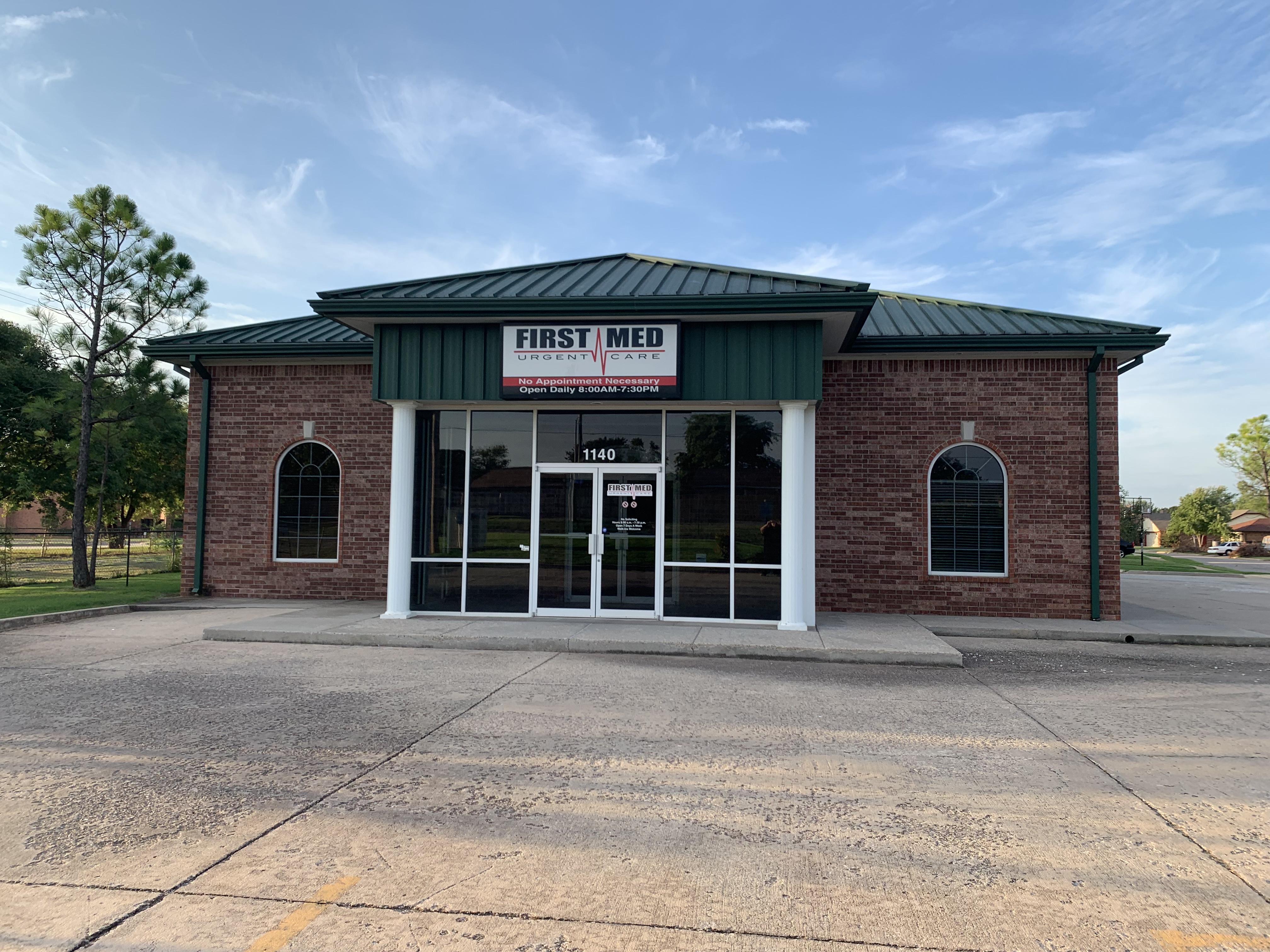 First Med Urgent Care - Southwest Oklahoma City (S Western and SW 104th) - Urgent Care Solv in Oklahoma City, OK