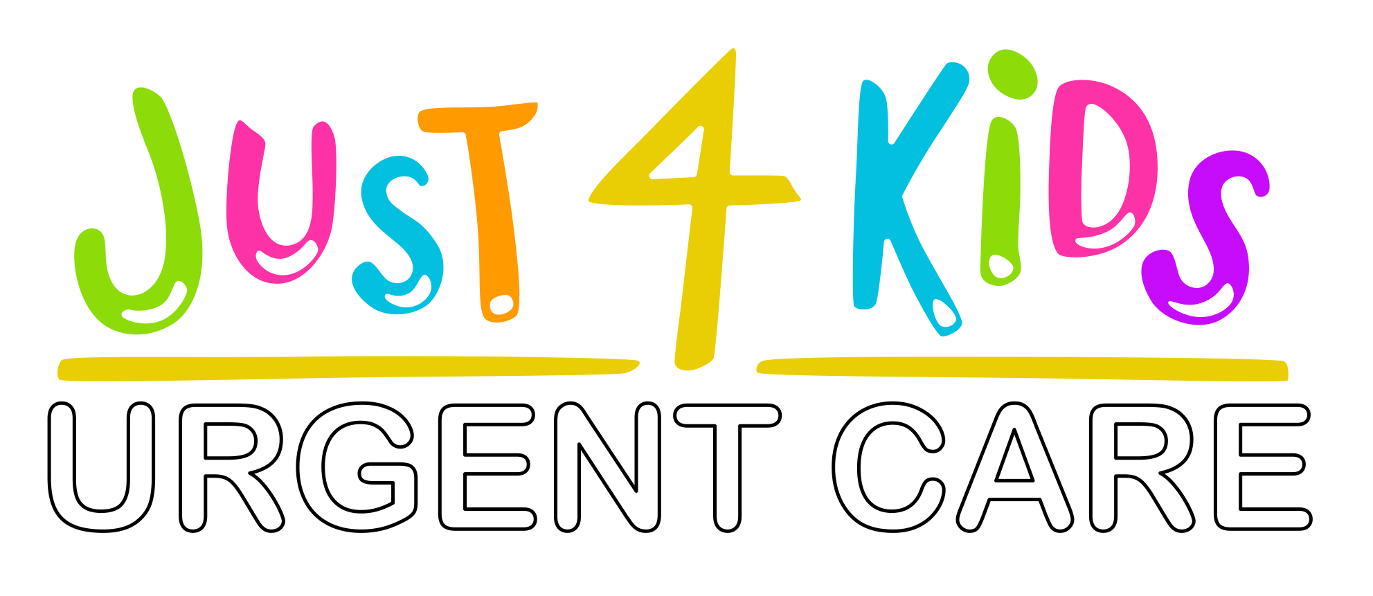 Just 4 Kids - Denton Logo