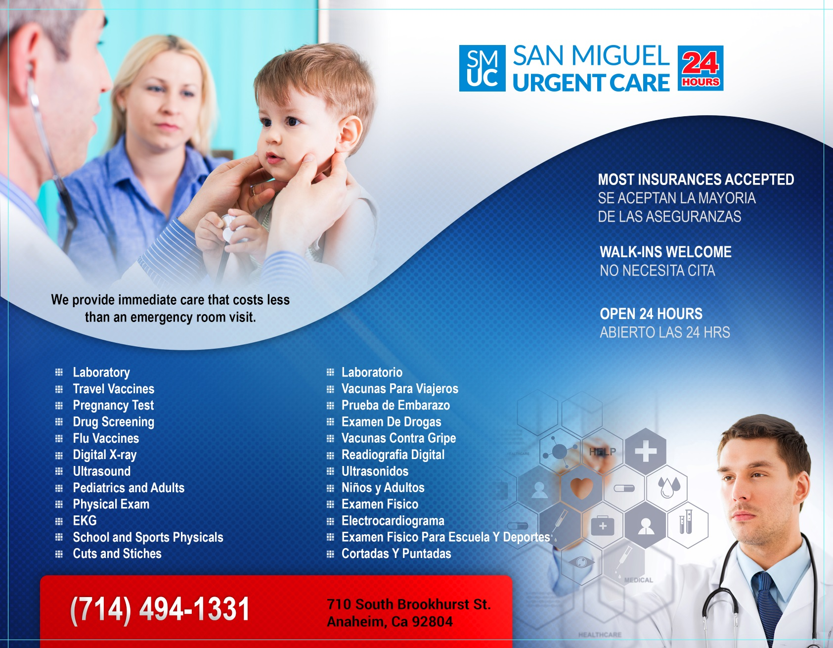 Photo for San Miguel Urgent Care , (Anaheim, CA)