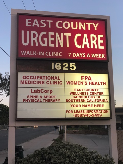 East County Urgent Care (El Cajon, CA) - #0