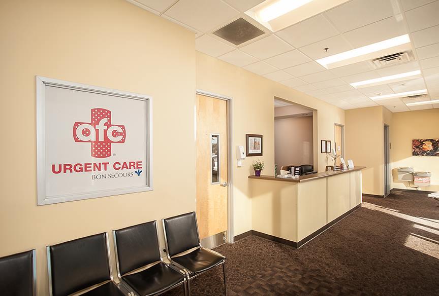 AFC Urgent Care - Bon Secours - Cherrydale - Urgent Care Solv in Greenville, SC