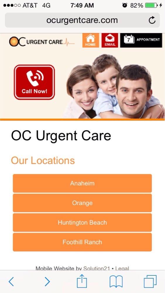 OC Urgent Care Orange - Urgent Care Solv in Orange, CA