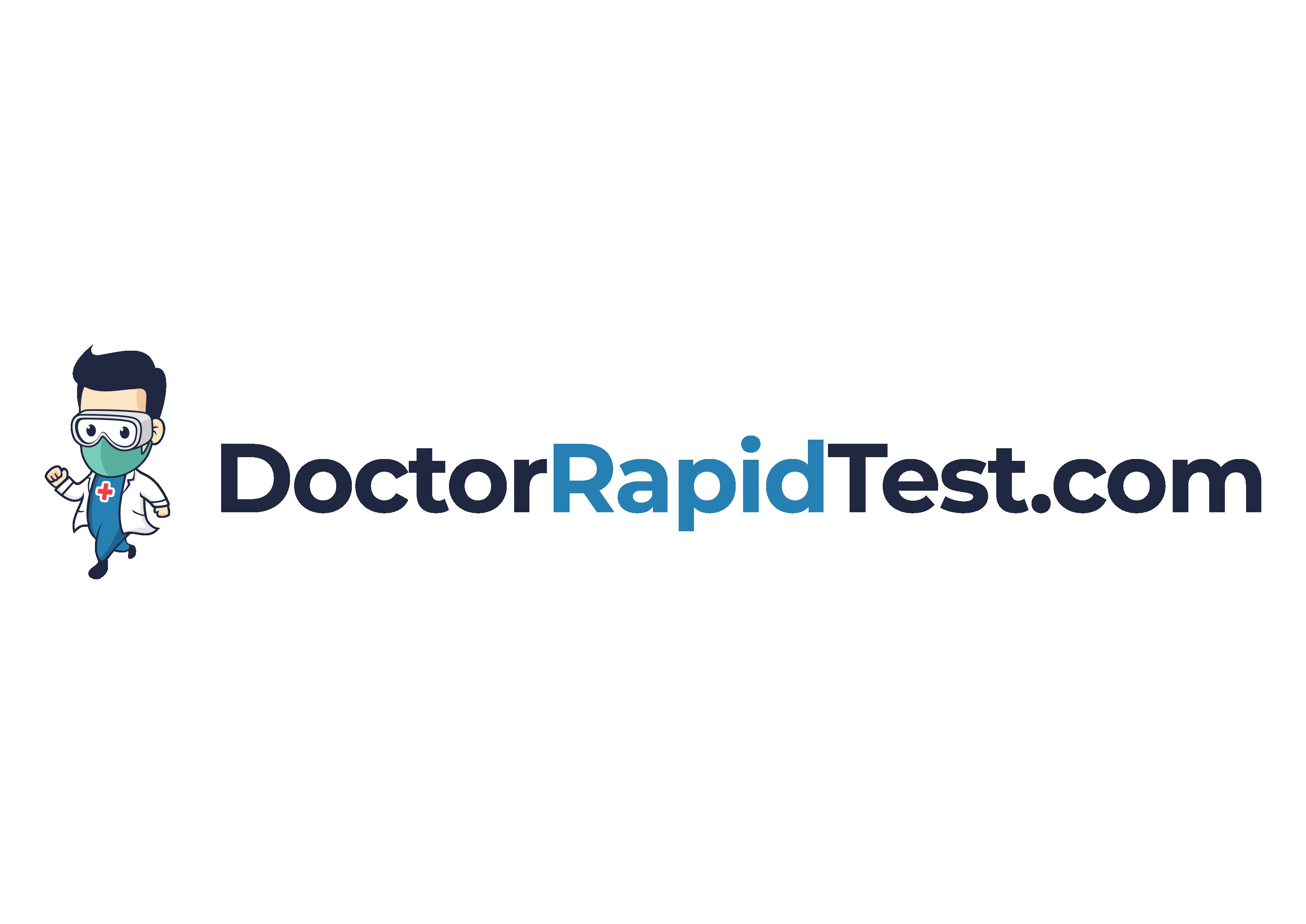 DoctorRapidTest.com - Covid Testing Logo