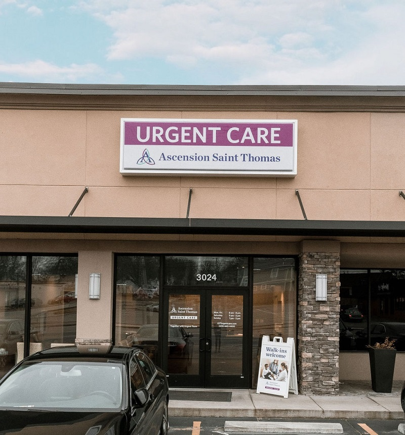 Ascension Saint Thomas Urgent Care - Nashville - Urgent Care Solv in Nashville, TN