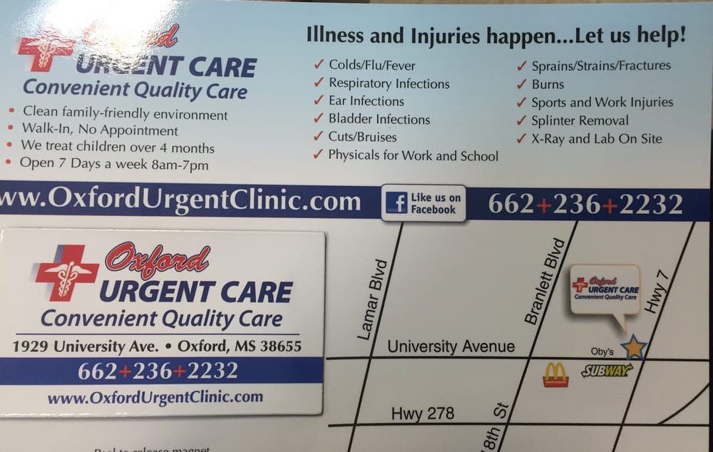 Oxford Urgent Care - Urgent Care Solv in Oxford, MS