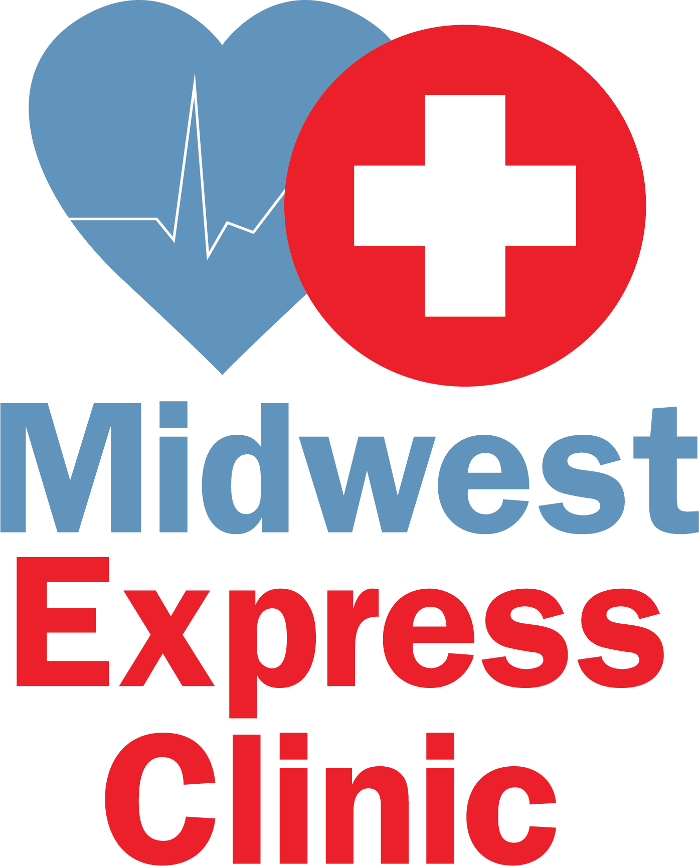 Midwest Express Clinic - Blue Island Logo