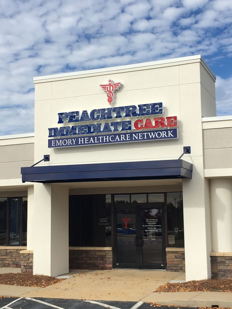 Peachtree Immediate Care Emory Healthcare Network Book Online