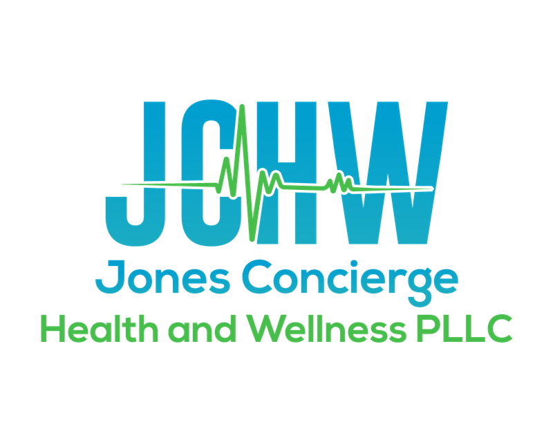 Jones Concierge Health and Wellness  Logo