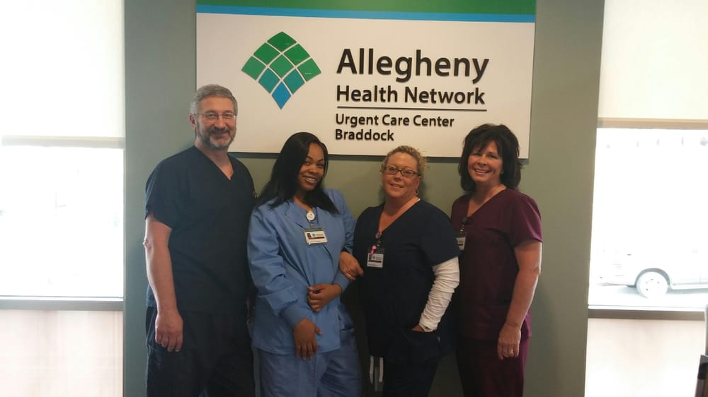 Allegheny Health Network Urgent Care Center Braddock - Book