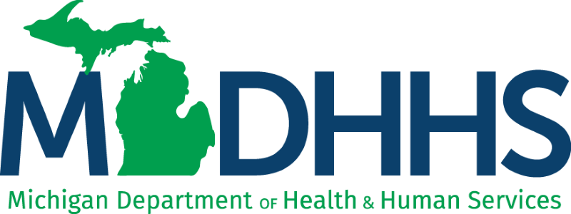 Michigan Department of Health and Human Services - Kirtland Community College Site (Grayling) Logo