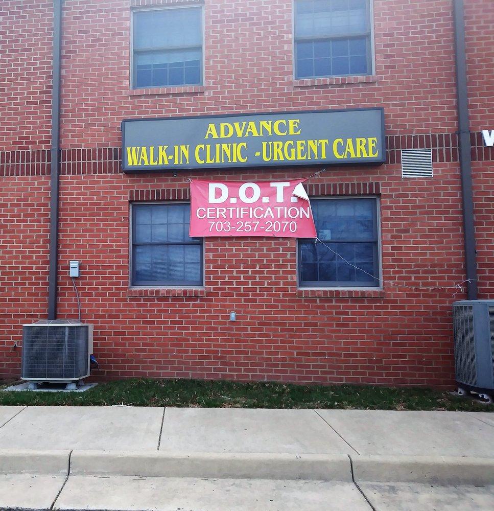 Advance Walkin Clinic & Urgent Care (Manassas, VA) - #0