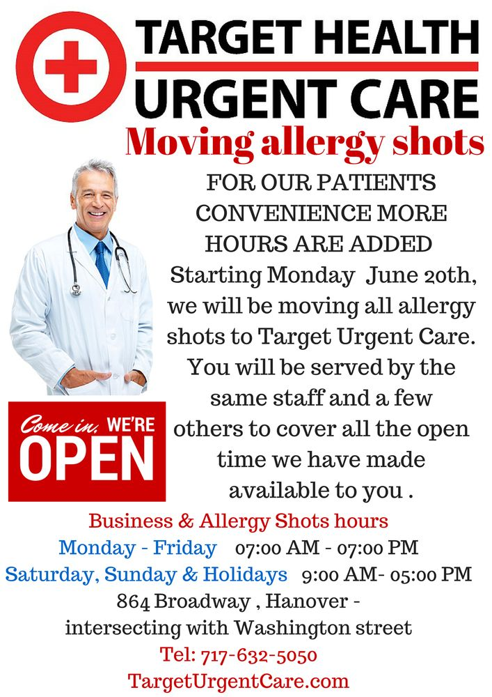 Target Health Urgent Care - Urgent Care Solv in Hanover, PA